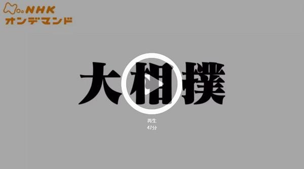 動画 今日 nhk 大相撲